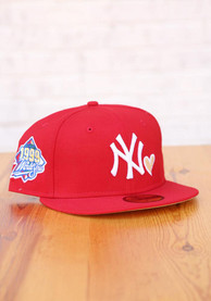 New York Yankees New Era 1999 World Series Side Patch Yellow UV Fitted Hat - Red