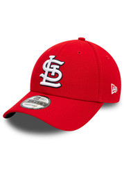St Louis Cardinals New Era The League 9FORTY Adjustable Hat - Red