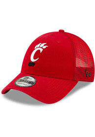 Cincinnati Bearcats New Era 940 TRUCKER CINBEA SCARLET Adjustable Hat - Red