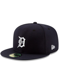 Detroit Tigers New Era Home AC 59FIFTY Fitted Hat - Navy Blue