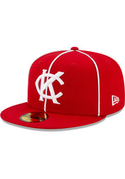 Kansas City Monarchs New Era 2021 TBTC 59FIFTY Fitted Hat - Red