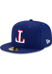 Texas Rangers New Era Upside Down 59FIFTY Fitted Hat - Blue