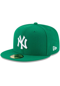 New York Yankees New Era New York Yankees Mlb Basic 59Fifty Fitted Fitted Hat - Green