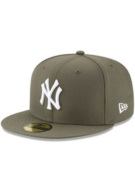 New York Yankees New Era New York Yankees Mlb Basic 59Fifty Fitted Fitted Hat - Olive