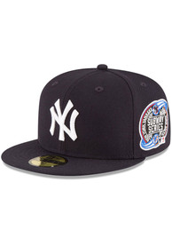 New York Yankees New Era New York Yankees World Series Collection 59Fifty Fitted 2000 Subway Series Fitted Hat - Navy Blue
