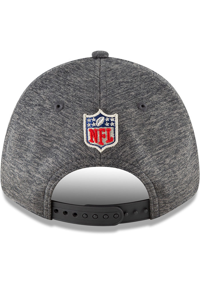 New Era Tampa Bay Buccaneers Conference Champs 9FORTY Adjustable Hat - Grey - Image 6
