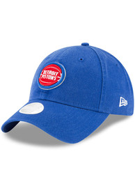 Detroit Pistons Womens New Era W Core Classic 9TWENTY Adjustable - Blue