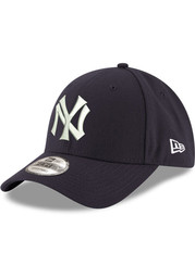 New Era New York Yankees Cooperstown Field of Dreams Game 9FORTY Adjustable Hat - Navy Blue