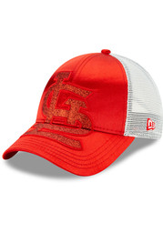St Louis Cardinals Womens New Era Radiant Team 9FORTY Adjustable - Red