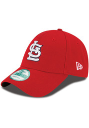New Era St Louis Cardinals The League Adjustable Hat - Red