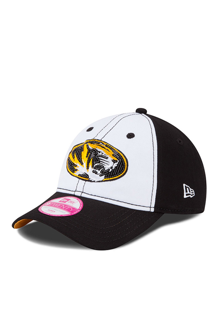 New Era Missouri Tigers Womens Black Team Glimmer Adjustable Hat 34f570cc3ff0