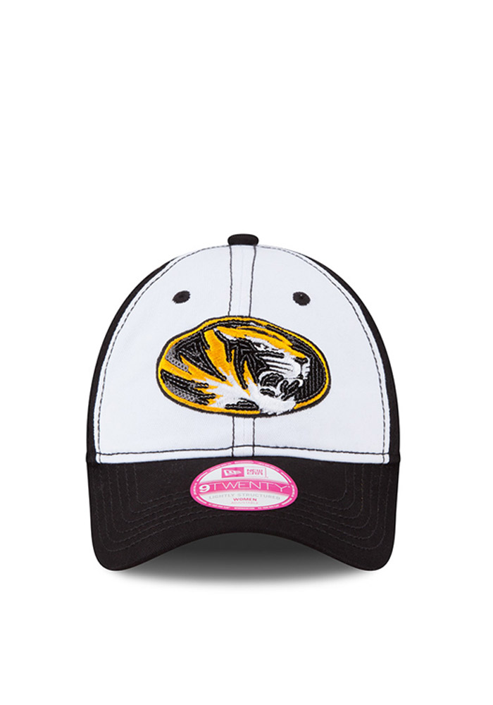 New Era Missouri Tigers Black Team Glimmer Womens Adjustable Hat - Image 3