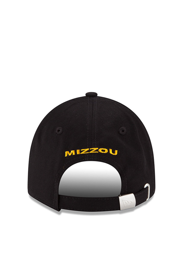 New Era Missouri Tigers Black Team Glimmer Womens Adjustable Hat - Image 4