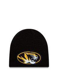 a9683175615 New Era Missouri Tigers Black Jr Oversizer Kids Knit Hat