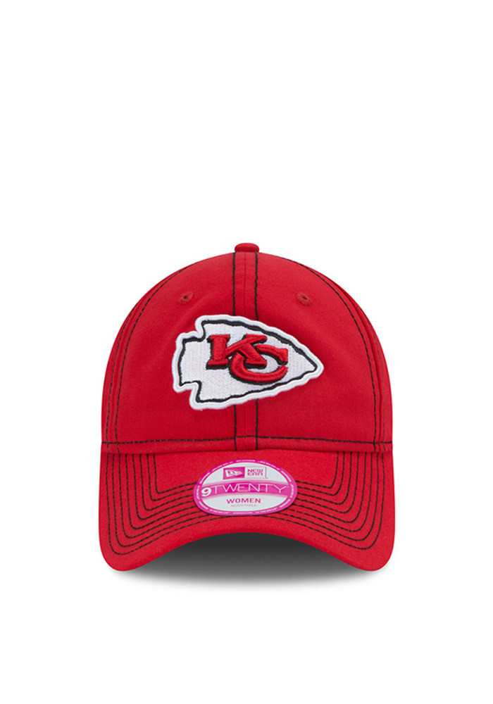 New Era Kansas City Chiefs Red Select Fresh Womens Adjustable Hat - Image 2