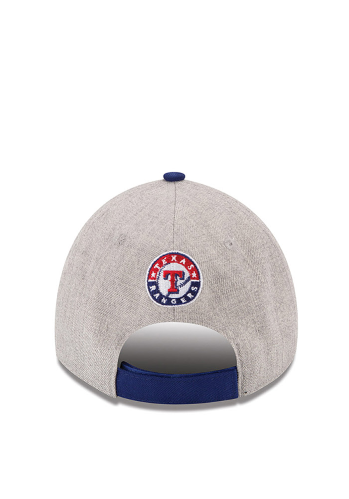 New Era Texas Rangers The League Heather 9FORTY Adjustable Hat - Grey - Image 4