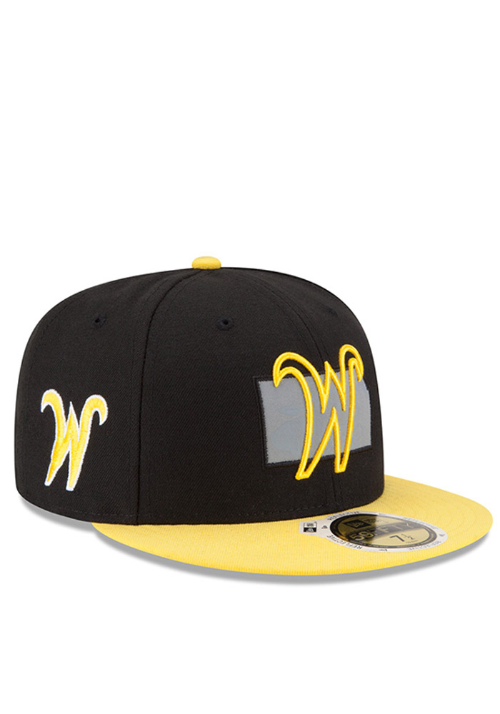 New Era Wichita State Shockers Mens Black State Flective Redux Fitted Hat - Image 2