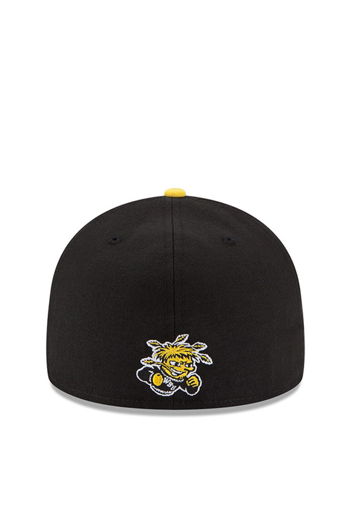 New Era Wichita State Shockers Mens Black State Flective Redux Fitted Hat - Image 4