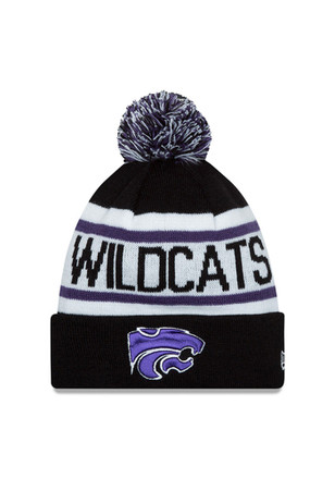 New Era K-State Wildcats Purple Jr Biggest Fan Redux Kids Knit Hat