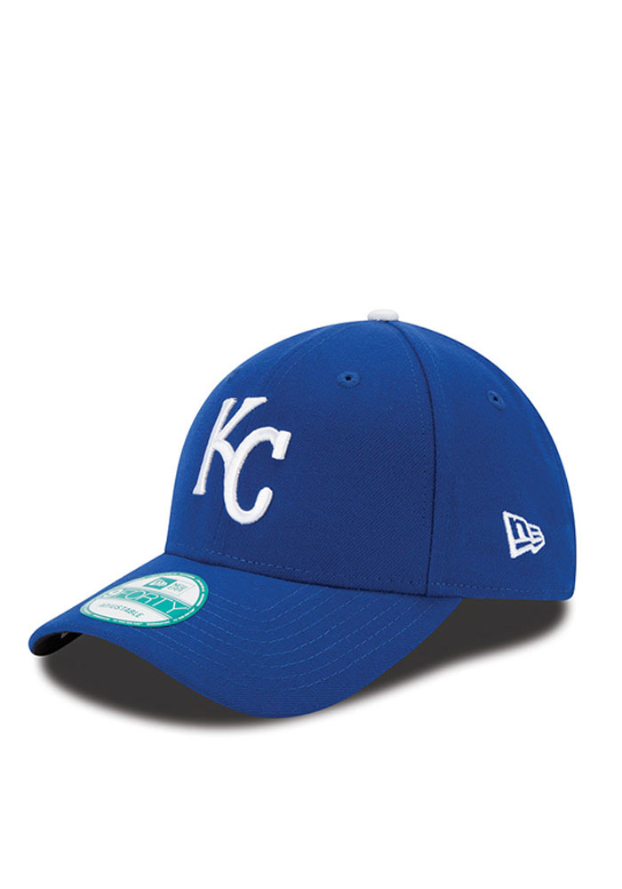 Kansas City Royals Blue Jr The League Youth Adjustable Hat - Image 1