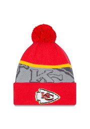New Era Kansas City Chiefs Red Gold Collection Knit Hat