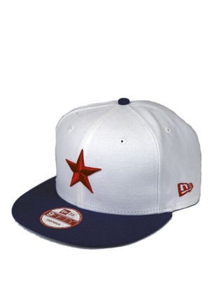 New Era Detroit Stars White 9Fifty Snapback Hat