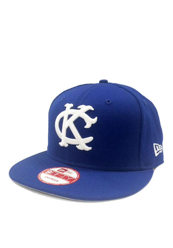 New Era Kansas City Royals Blue embroidered team logo on the front Mens Snapback Hat - Image 1