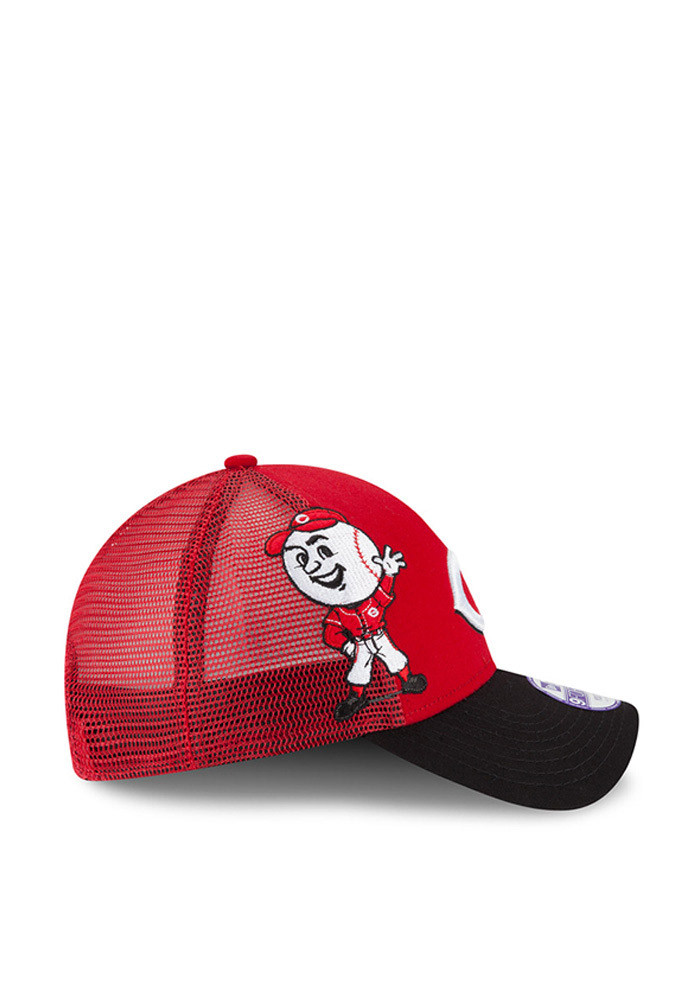 New Era Cincinnati Reds Red Mascot Mixer 940 Youth Adjustable Hat - Image 6