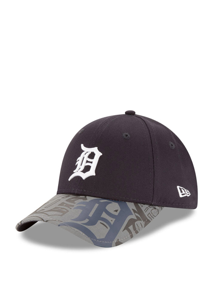 info for 750b9 6899b ... buy new era detroit tigers navy blue reflect fuse 940 youth adjustable  hat 1839e f5273
