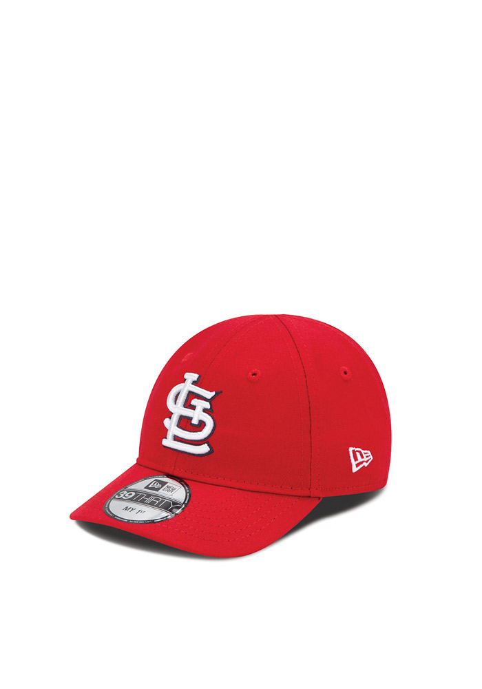New Era St Louis Cardinals Baby MY 1st 39THIRTY Adjustable Hat - Red - Image 1