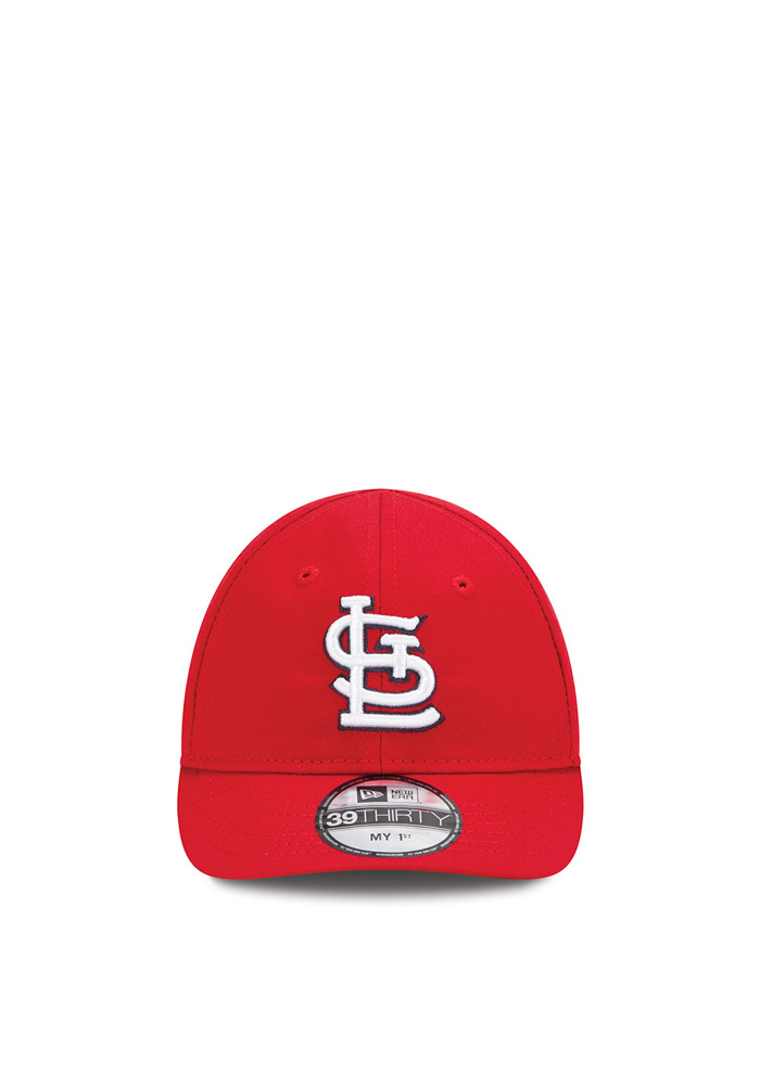 New Era St Louis Cardinals Baby MY 1st 39THIRTY Adjustable Hat - Red - Image 2