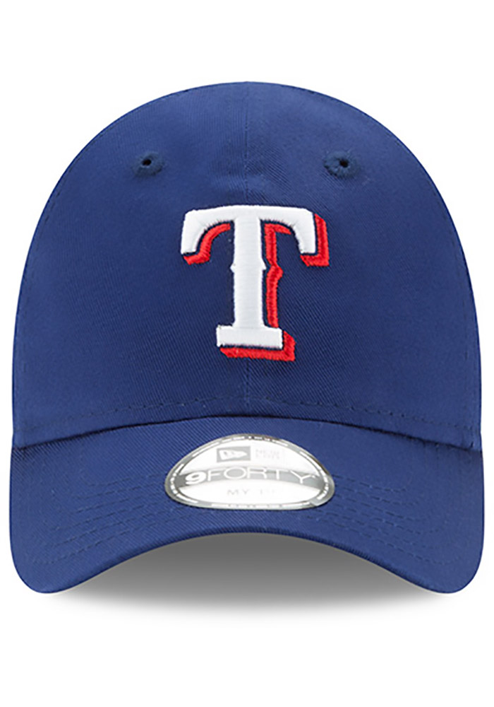 New Era Texas Rangers Baby MY 1st 940 Adjustable Hat - Blue - Image 3