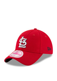 detailed pictures f825b e6c76 New Era St Louis Cardinals Womens Red Tech Essential DE LS 9TWENTY  Adjustable Hat
