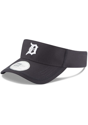 New Era Detroit Tigers Mens Navy Blue Adjustable Visor