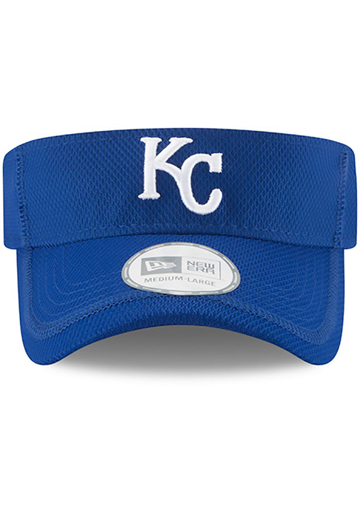 New Era Kansas City Royals Mens Blue 2017 Clubhouse Adjustable Visor - Image 3