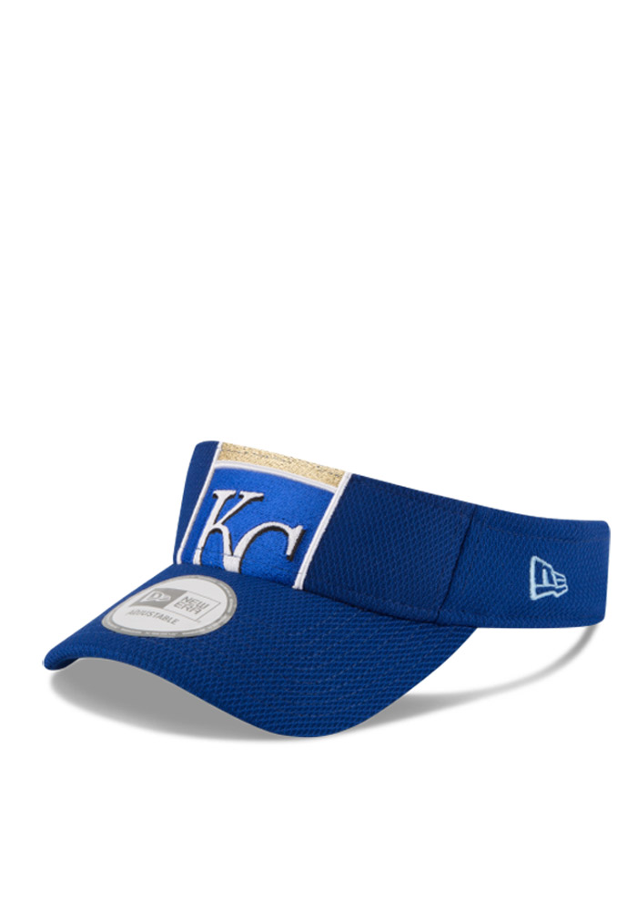 New Era Kansas City Royals Mens Blue DE Mixer Adjustable Visor - Image 1