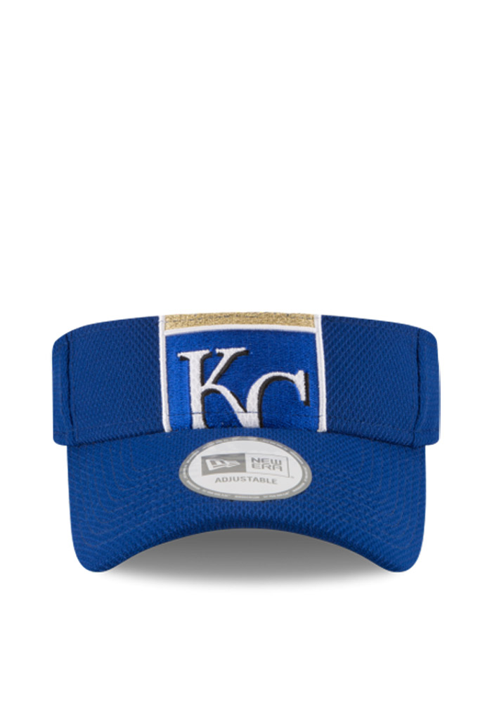 New Era Kansas City Royals Mens Blue DE Mixer Adjustable Visor - Image 2
