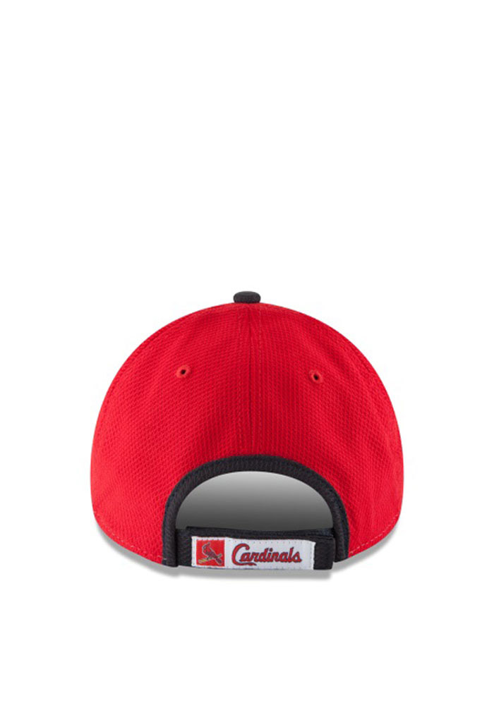 New Era St Louis Cardinals Perf Block 9FORTY Adjustable Hat - Red - Image 3