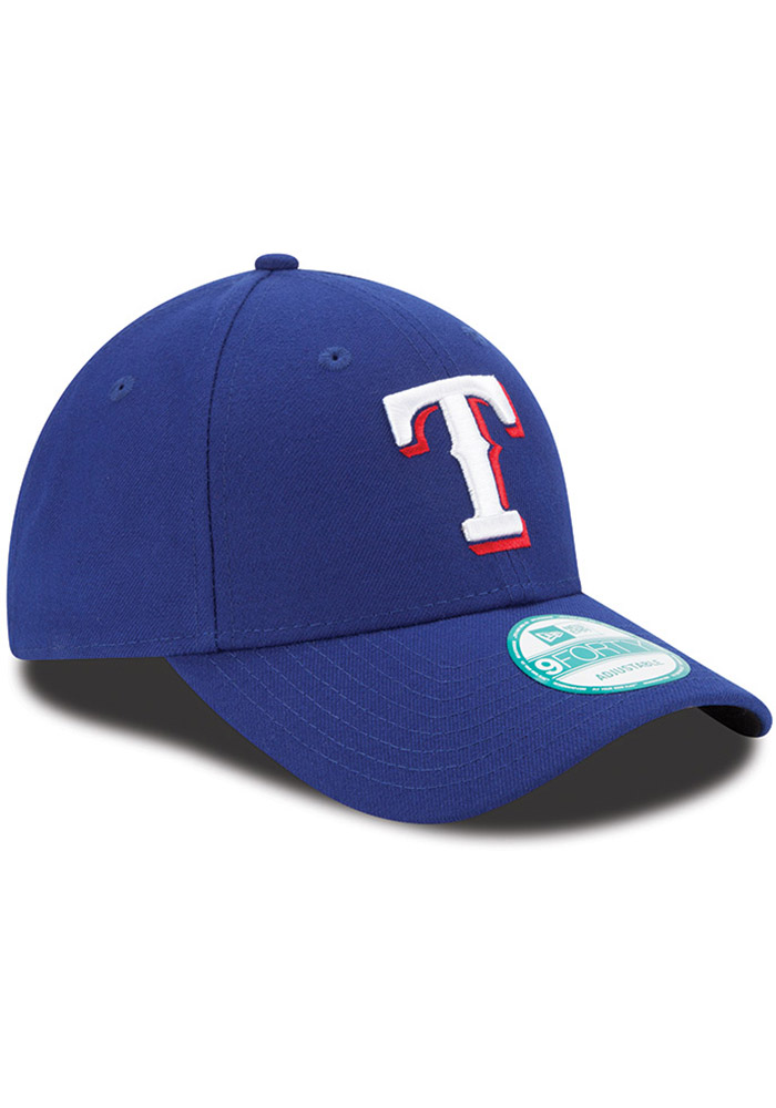 New Era Texas Rangers The League 9FORTY Adjustable Hat - Blue - Image 2
