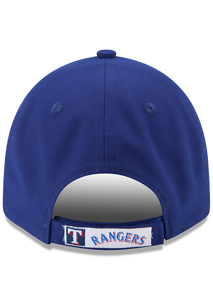 New Era Texas Rangers The League 9FORTY Adjustable Hat - Blue - Image 4