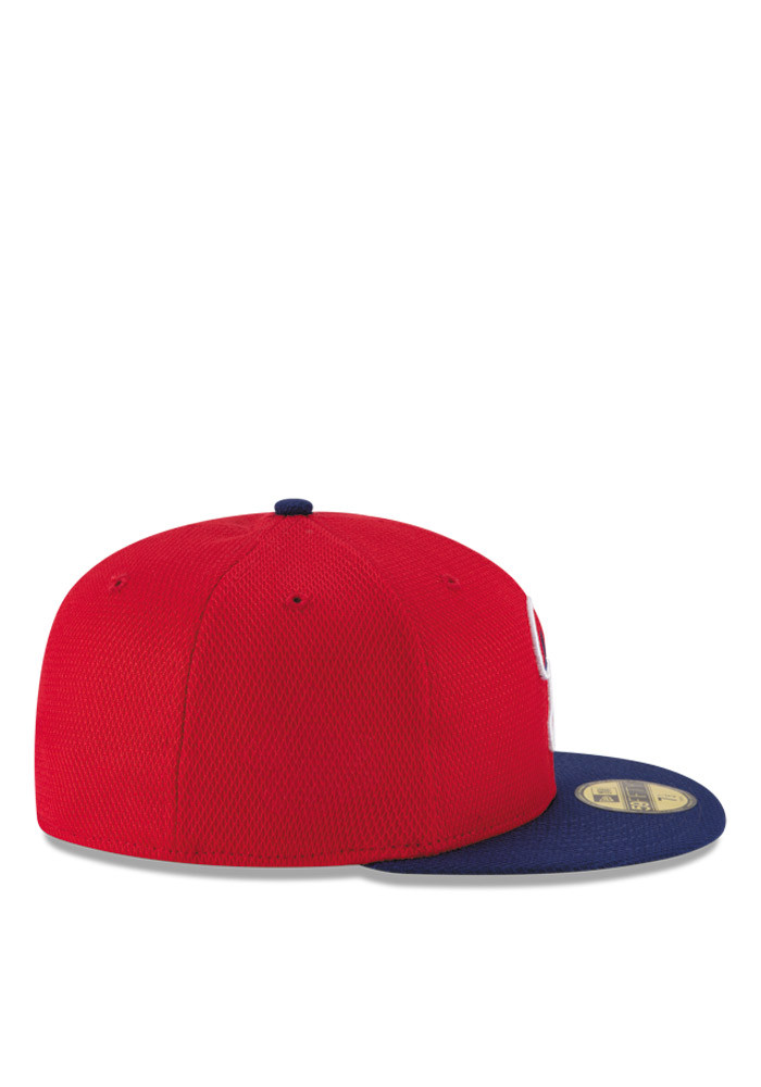 New Era Philadelphia Phillies Mens Red 2016 MLB Diamond Era 5950 Fitted Hat - Image 6