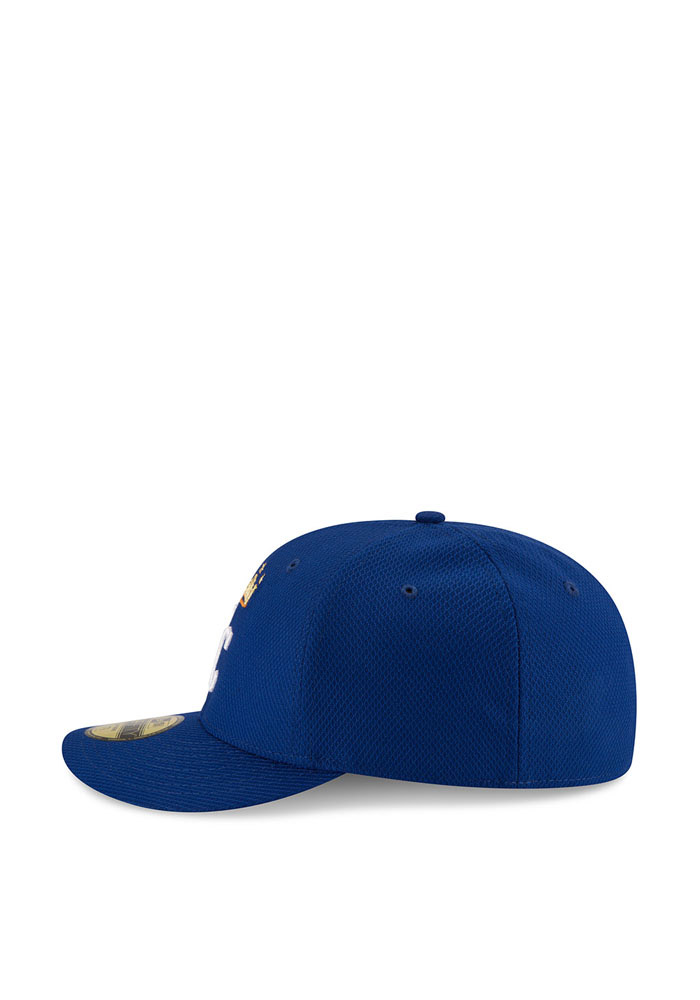 New Era Kansas City Royals Mens Blue 2016 MLB Diamond Era LC 5950 Fitted Hat - Image 4