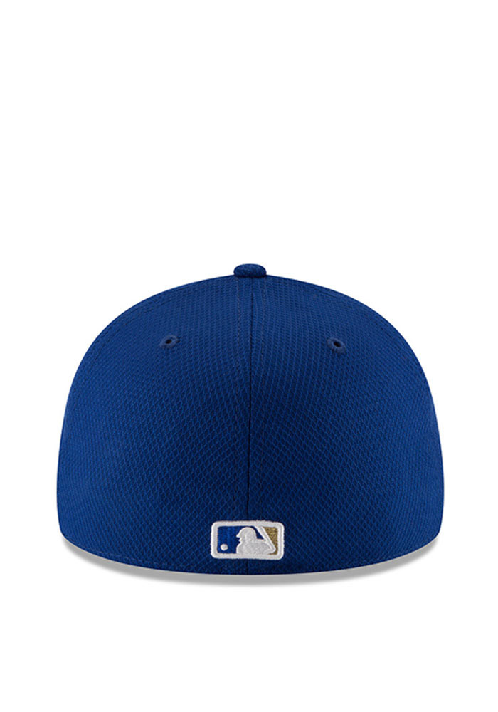 New Era Kansas City Royals Mens Blue 2016 MLB Diamond Era LC 5950 Fitted Hat - Image 5