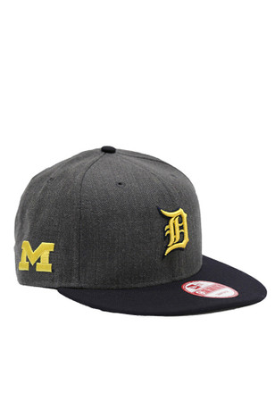 New Era Detroit Tigers Grey Co Branded 9FIFTY Snapback Hat