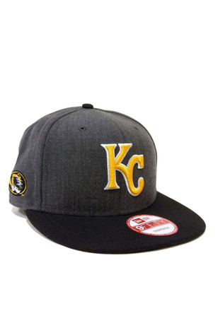 New Era Kansas City Royals Grey Co Branded 950 Snapback Hat