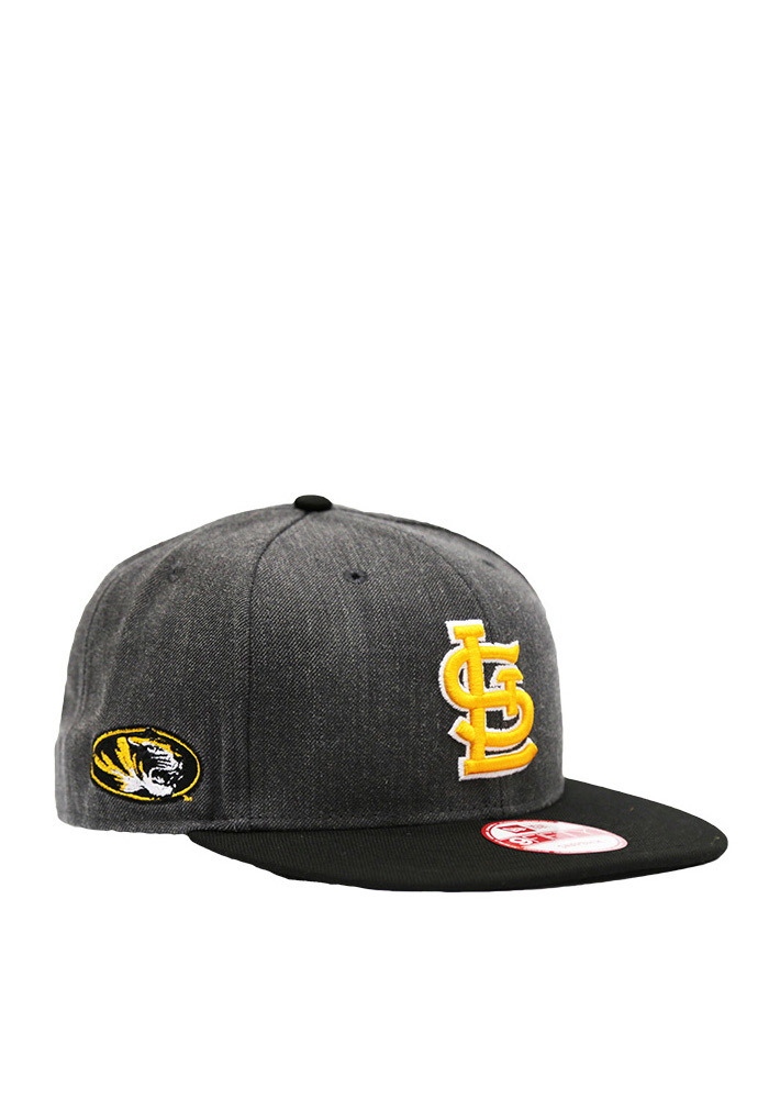 New Era St Louis Cardinals Grey Co Branded 9FIFTY Mens Snapback Hat - Image 1