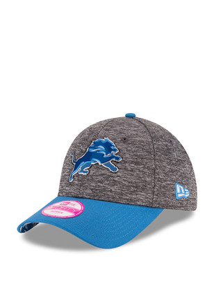 New Era Detroit Lions Womens Blue 2016 Draft W 9FORTY Adjustable Hat 86c9adc59