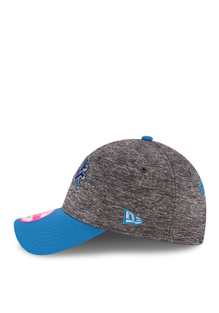 New Era Detroit Lions Blue 2016 Draft W 9FORTY Womens Adjustable Hat - Image 4