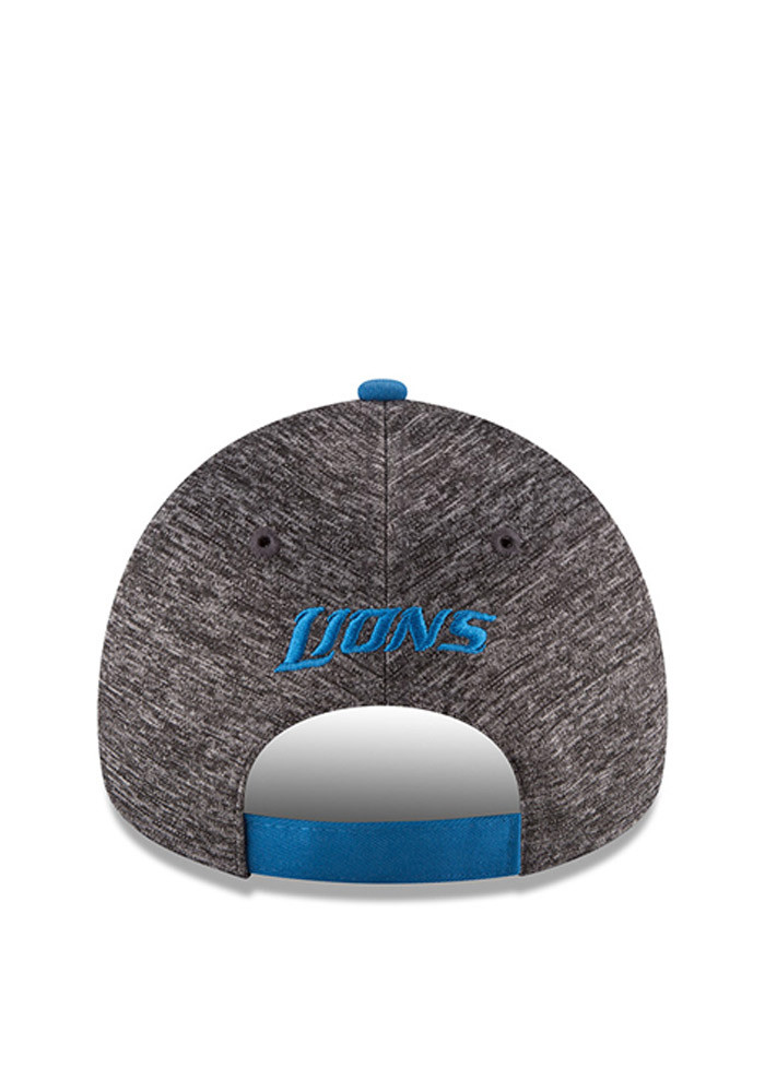 New Era Detroit Lions Blue 2016 Draft W 9FORTY Womens Adjustable Hat - Image 5