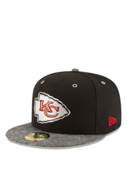 KC Chiefs New Era Mens Red 2016 Draft 59FIFTY Fitted Hat
